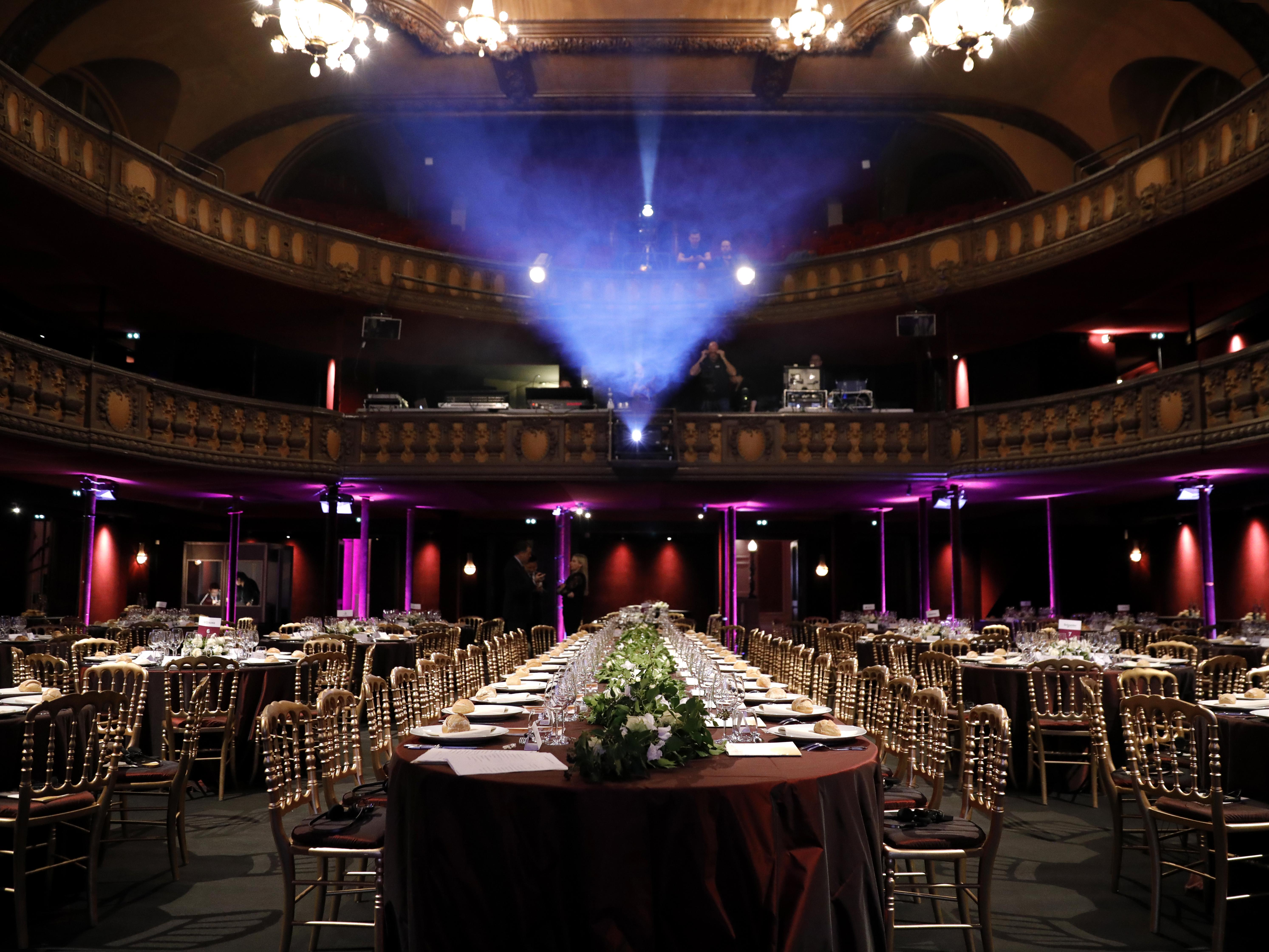 Privatisation pour reception Théâtre Trianon Paris 18ème
