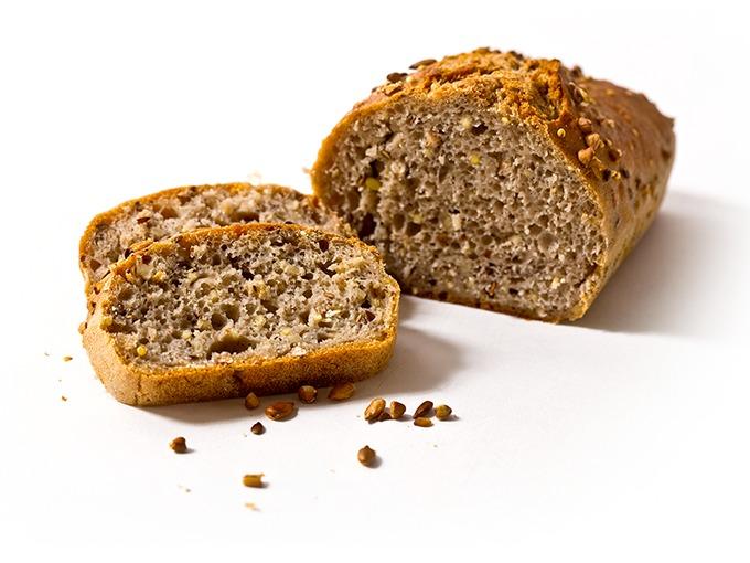 pain sans gluten aux céréales