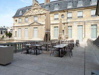 Musée Pablo Picasso Café sur le toit