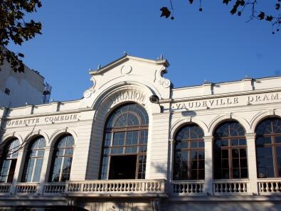 Théâtre du Trianon la Facade